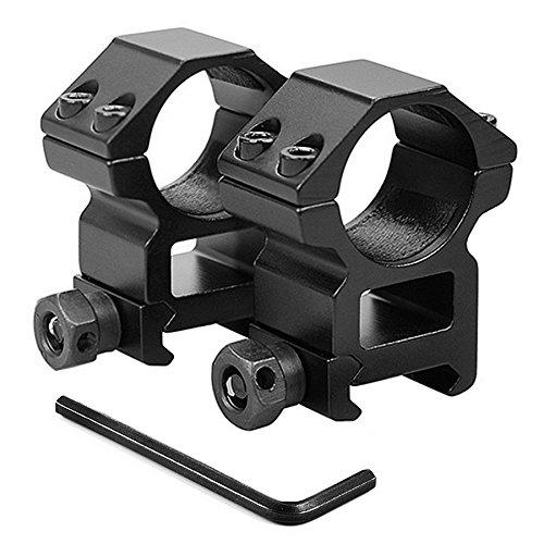 KINSUNG Montage pour Lunette De Visée Rail De Support - diamètre 25,4 mm - Rail 20mm