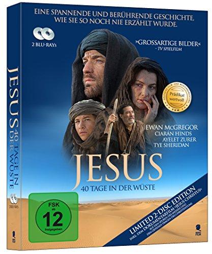 Jesus - 40 Tage in der Wüste [Blu-ray] (Prädikat Wertvoll) (2-Disc Set)