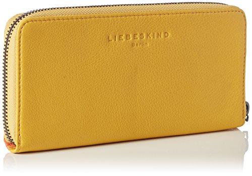 Liebeskind Berlin - Gigi, Portafogli Donna Giallo (Gelb (amber yellow 1758))