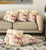 #10: La Verve Cotton Print Cushion Cover 16X16
