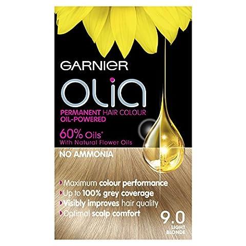 Garnier Olia 9.0 Light Blonde Permanent Hair Dye