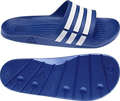 Adidas - Duramo navy claquette - Claquettes mules - Bleu marine / bleu nuit - Taille 8