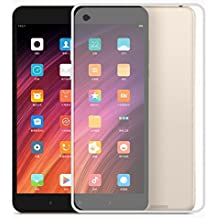 Funda Xiaomi Mi Pad 3, AVIDET Funda de TPU silicona chic para el Xiaomi Mi Pad 3 (Blanco Translúcido)