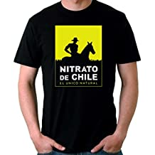 35mm - Camiseta Hombre Nitrato De Chile-Retro 80s