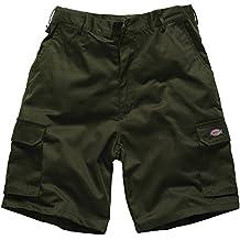 "Pantalones cortos cargo Dickies Redhawk color oliva talla 34"" An"