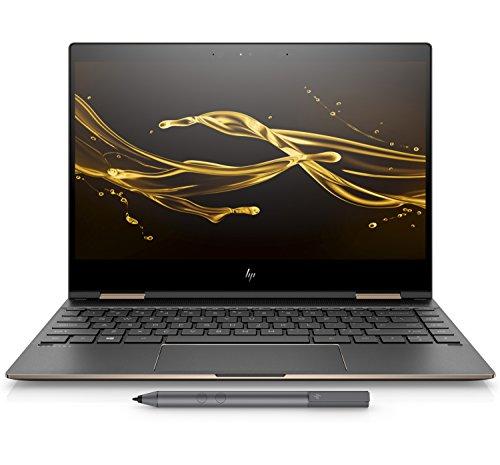 HP Spectre x360 Convertible 13-ae503TU 2018 13.3-inch Laptop (8th Gen Intel Core i7-8550U Processor/16GB/512GB/Windows 10 Professional/Intel UHD Graphics 620), Dark Ash Silver image