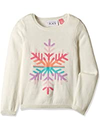 The Children's Place Baby Girls' Knitwear (2070322SV_Snow_2 Toddlers)
