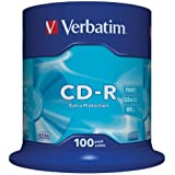 Verbatim 43411 Extra Protection 48/52x 100pk