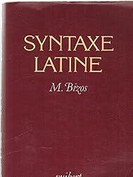 La syntaxe latine