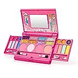 Jouets de Maquillage pour Enfants Jouets Cosmétiques Kit de Fille Boîte Coffret de...