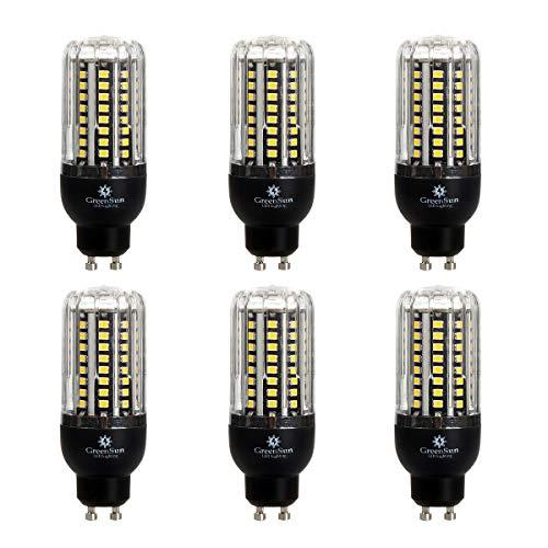 Preisvergleich Produktbild GreenSun LED Lighting 6er 6W LED Leuchtmittel Mais Birnen Dimmbar ersetzt 60W,  GU10,  Warmweiß (2700 Kelvin),  480 Lumen LED Lampen