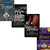 Rory Clements John Shakespeare Series 4 Books Collection Set, (Revenger, Prince, Traitor, The Heretics)