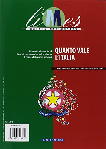 Limes. Rivista italiana di geopolitica (2018): 5