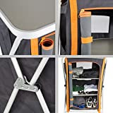 Ultrasport Campingschrank – Universal Faltschrank, 3 Fächer + Arbeitsfläche inkl. Aufbewahrungstasche - 5
