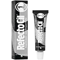 Refectocil - Tinte para pestañas,15 ml, negro intenso