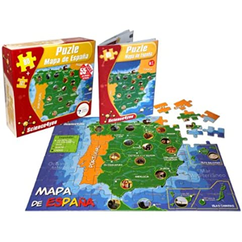 Puzle Mapa de España