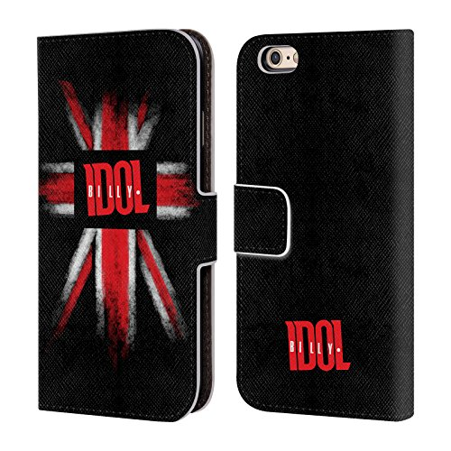 Ufficiale Billy Idol Nothing To Fear Logo Cover a portafoglio in pelle per Apple iPhone 5c Home