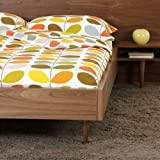 Multi Stem Duvet Set Pure Cotton Cover with Two Pillowcases