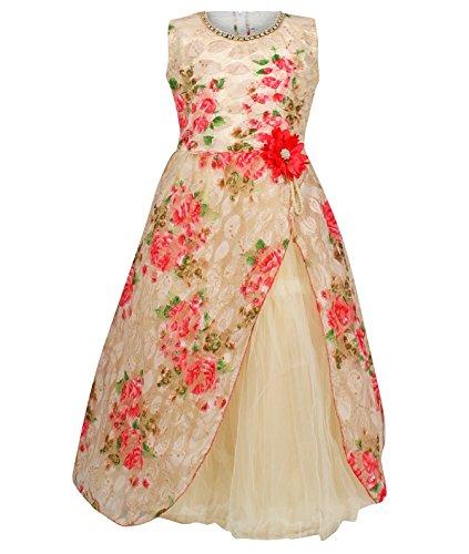 Arshia Fashions Girls Party Wear Frock Dress- 9 - 10 Years