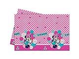 Disney Kunststoff I Love Dots Minnie Maus Tischdecke, 1,8m x 1,2m