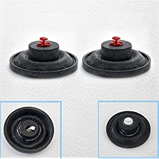 2 no Armitage Shanks 32mm 1 1/4 inch Quite Valve Hushflow Float diaphragm Washer inlet fill, inlet valves with screw caps colour will vary
