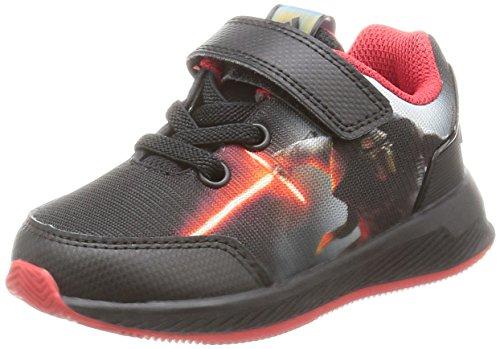 adidas Star Wars El I, Sneakers Basses Mixte Enfant Noir (Negbas/granat/dormet)