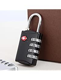 Velkro TSA Approved 4 Digit Luggage Lock Best For International Travelling Assorted