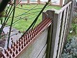 Primrose Katzen-Abwehrstreifen Zaun und Mauerstreifen mit Spikes