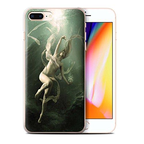 Offiziell Elena Dudina Hülle / Case für Apple iPhone 8 Plus / Pack 7pcs Muster / Agua de Vida Kollektion Unterwasser