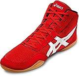 Asics Matflex 5, Scarpe da pugilato uomo Rosso rosso/bianco 39.5 EU