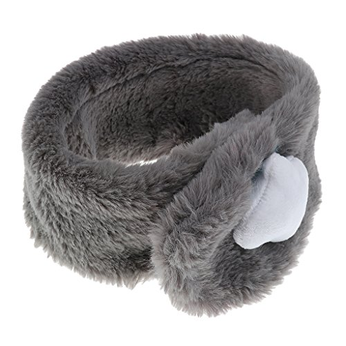 Prettyia Babybekleidung Baby Kinder O Ring Hals Warm Schal Kragen Winter Wrap Schal Halswärmer - Graue Wolke, wie beschrieben - Graue Winter-wrap
