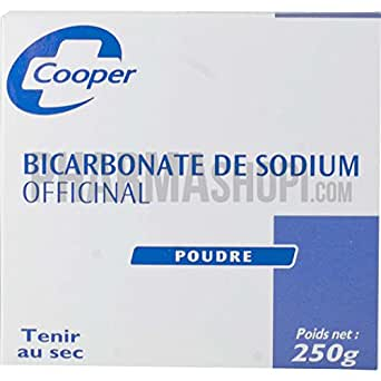 COOPER Bicarbonate de Sodium - 250 g