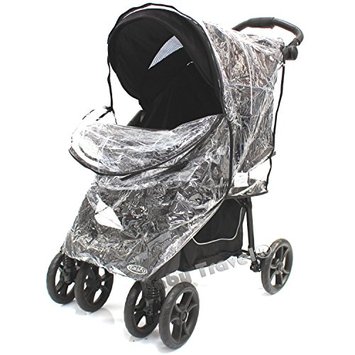 Baby Travel Travel System Raincover To Fit - Joie Brisk (Heavy Duty, High Quality)