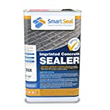 Smartseal Imprinted Concrete Sealer 5L - SILK/WET LOOK finish - High Quality, Durable