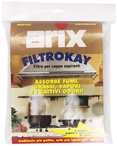 Arix - Filtro per cappe aspiranti, Universale, 50 x 57 ca.
