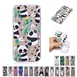 V-Ted Coque Apple iPhone 7 Plus 8 Plus Panda Bambou Silicone Ultra Fine Mince Bumper...
