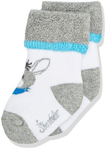 Sterntaler Baby-Socken Erik, Alter: 0-4 Monate, Größe: 14, Grau
