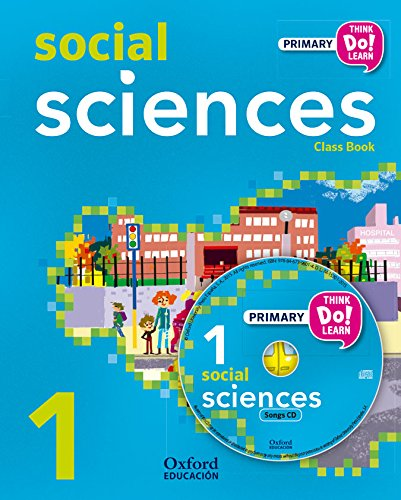 Pack andalucía social science primary 1 student's book (+ cd) (think do learn)