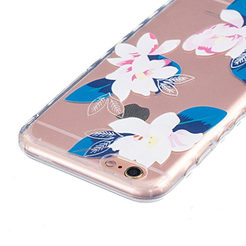 Coque iPhone 6 Plus Silicone Coque pour iPhone 6s Plus (5.5), Sunroyal® Ultra Slim Etui Housse Transparente [Absorption de Choc] Gel TPU Souple Shell Protection pour Apple iPhone 6 Plus/6s Plus (5.5 p Non-slip 12