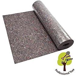 ProfessionalTree 4687 Malervlies ca. 1 m x 50 m² Abdeckvlies in Premium Qualität mit PE Anti Rutsch Beschichtung 180g je qm stark, rutschhemmender Malerfilz, 180 G/M², 50m