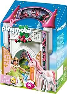 Playmobil 4777 einhornt rmchen zum mitnehmen for Chateau playmobil princesse 5142