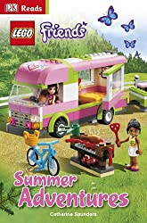 LEGO® Friends Summer Adventures (DK Reads Starting To Read Alone)