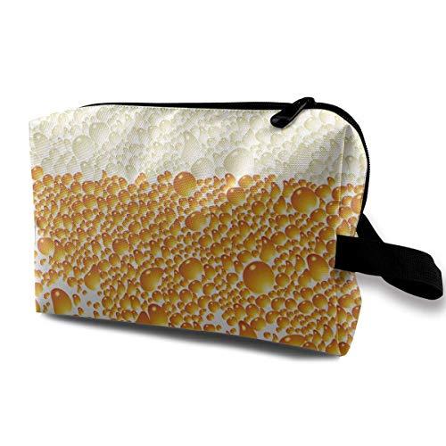 Cool Beer Foam Portable Make-up Receive Bag Hand Cosmetic Bag Makeup Bag Sewing Kit Medicine Bag makeup bag -