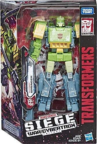 Transformers Toys Generations War for Cybertron Voyager WFC-S38 Autobot Springer Action Figure-Siege Chapter