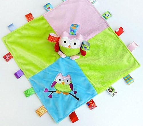 Jouets pour enfants Bébé Douillette Jouets Jouets Douillette Coton Serviette Douce Main Serviette Main Peluche Winning Chouette Jouet 1 pc_Colorful B07MC3NMTM 1cf25a