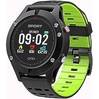 DTNO.I Montre Intelligente, Montre de Sport altimètre/baromètre / thermomètre GPS intégré, Tracker de Fitness la Course, la randonnée l'escalade, Horloge de Course Hommes, Femmes aventuriers.