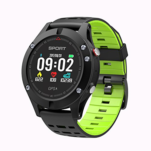 516gS N1aVL. SS500  - Smart watch,Sports Watch with Altimeter/ Barometer/Thermometer and Built-in GPS , Fitness Tracker for Running,Hiking and Climbing ,IP67 Waterproof Heart Rate Monitor for Men, Women and Adventurer.