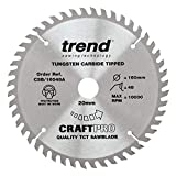 Trend CSB/16048A TREND CSB/16048A Craft Saw Blade 160mm x 48T x2.2x20mm - Silver