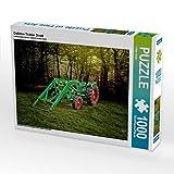 Oldtimer Traktor Deutz 1000 Teile Puzzle quer: Ein Motiv aus dem Kalender Oldtimer Schätze von Peter Roder (CALVENDO Technologie)