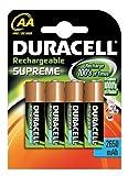 Duracell Akku Mignon AA (HR6) 1,2V 2.450mAh, 4er Pack